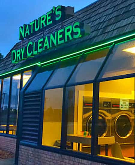 Natures Dry Cleaners Front